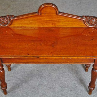Mahogany table circa 1830 of small size maker William Freeman Norwich. Antique Furniture Archives   Paul Watson Antiques