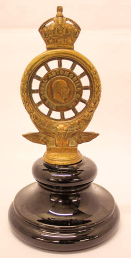vintage RAC badge