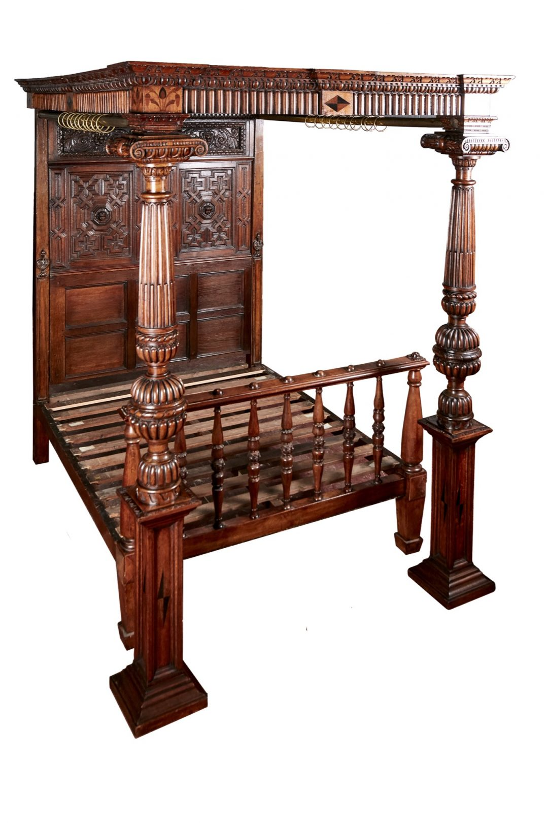 Victorian 4 poster bed